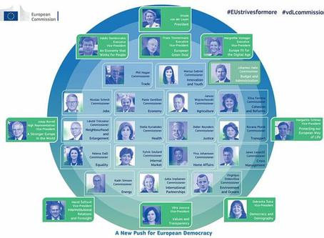 #5temas claves: Nuevo equipo de desarrollo de la UE,  Convocatoria cooperación descentralizada...