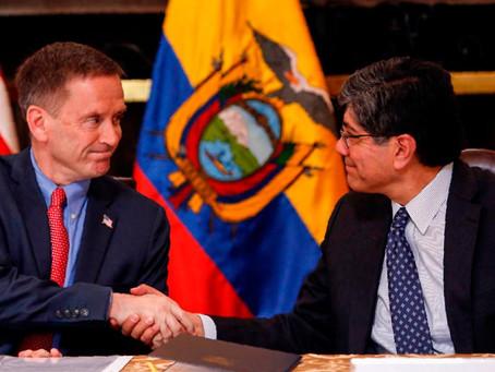 Ecuador y EE.UU. refuerzan sus relaciones con el retorno de la Usaid