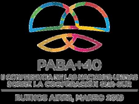"""PABA+40 Side Event: """"Repensar la CSS en el marco de la dinámica global actual y la Agenda 2030"""""""