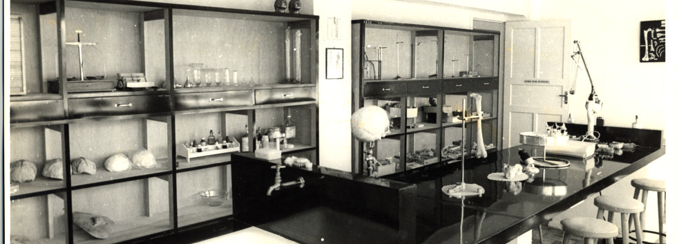 Laboratório no antigo Instituto de Antropologia