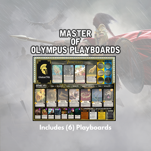 Master of Olympus Playboards - (x6)