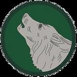 timberwolves logo. Wolf howling