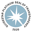 Guidestar platinum seal of transparency for 2020