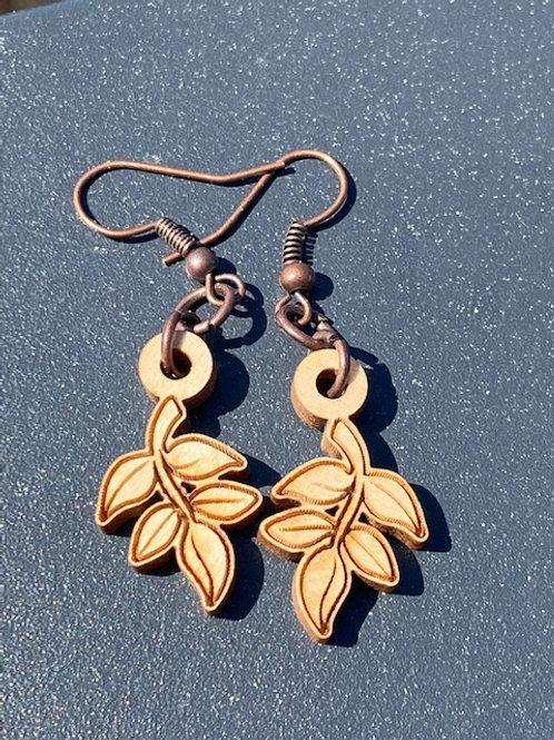 Leaf-Earrings