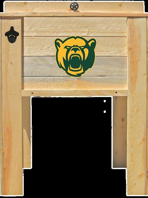 Baylor University Wooden Cooler