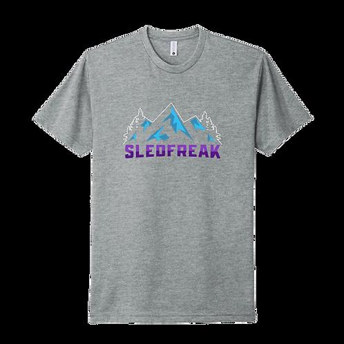 Mountains Grey T Shirt