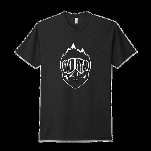 SledHead Black T Shirt