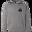 Thumbnail: Grey Sledfreak Logo Hoodie Full Back Front Left Black