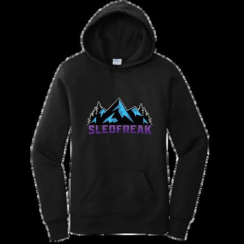 Women's Mountains Logo Hoodie