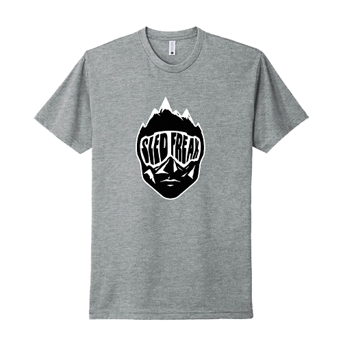 SledHead Grey T Shirt