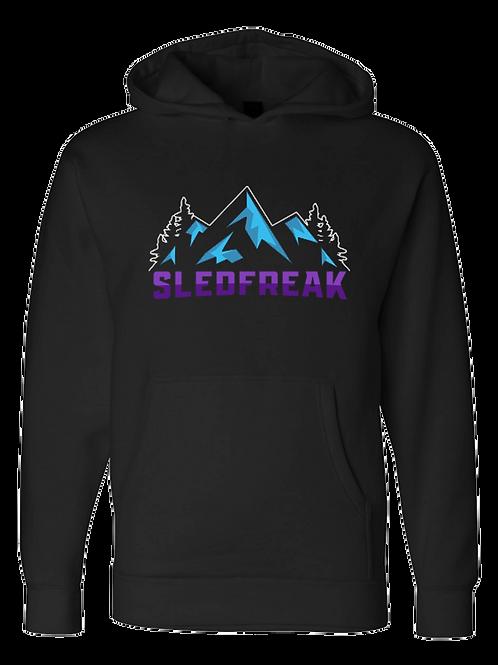 Mountains Logo Hoodie Full Front