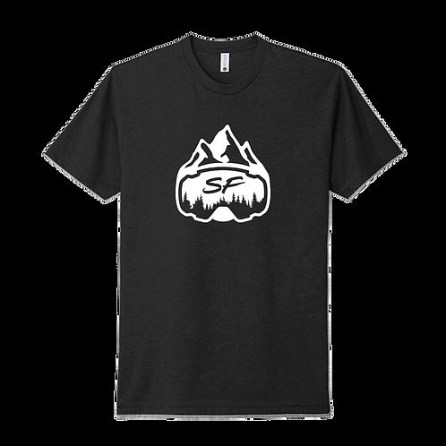 Sledfreak Logo Black T Shirt