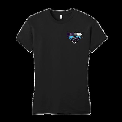 Women's Badge Black T Shirt