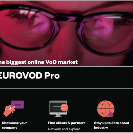 Press Release - EUROVOD PRO: the1st comprehense online market & community for VoD launches