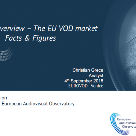 The EU VOD Market - a presentation by the European Audiovisual Observatory