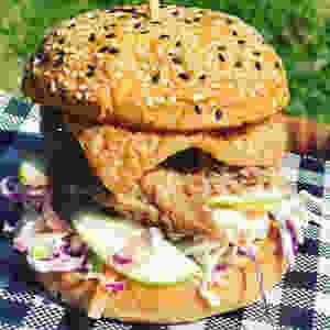 Pulled Pork Burger Mudgee
