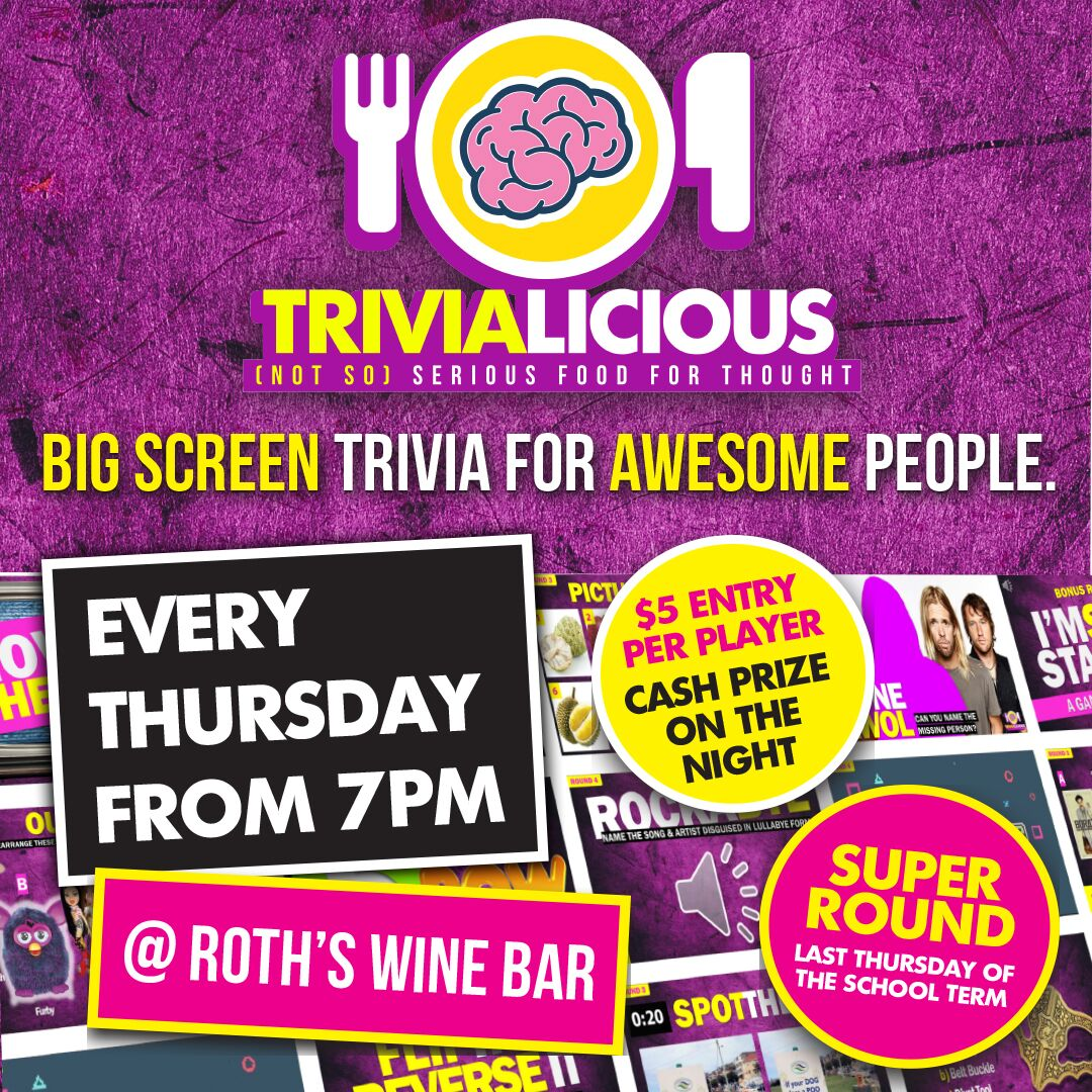 Trivialicious @ Roth's Wine Bar