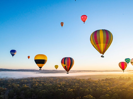 Mudgee Hot Air Ballooning Festival