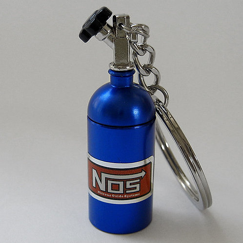 Key Chain Nos Pill Bottle