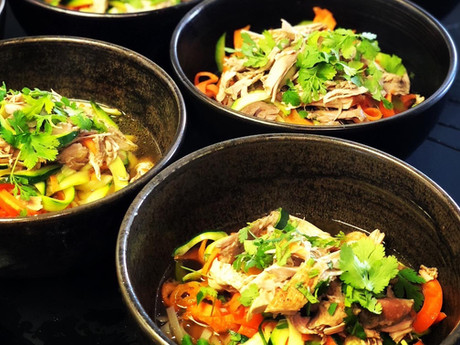 PHO GA, soupe de poulet vietnamienne