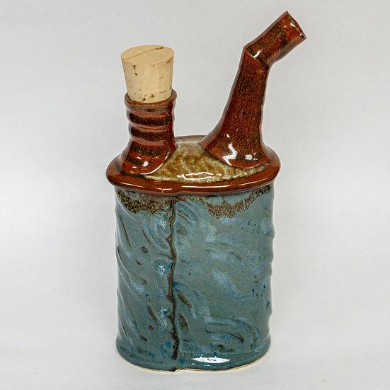 Stoneware Oil Spout Ewer