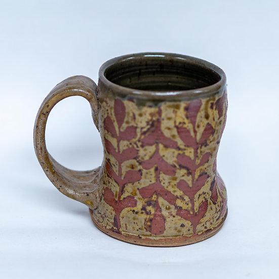 Local Clay and Ash Glazed Mug