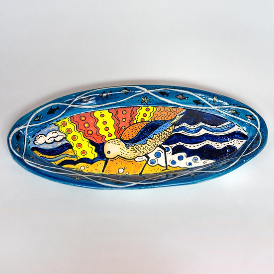 Sandpiper Porcelain Platter