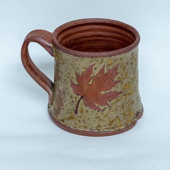 Local Clay and Ash Glazed Mug