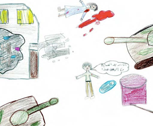 Drawings of Syrian Refugee Children
