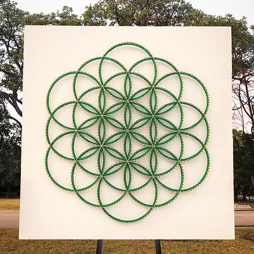 Flower of Life Energy Board