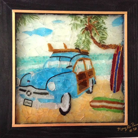 "#48, ""Surfing With My 1950 Woody Classic"""