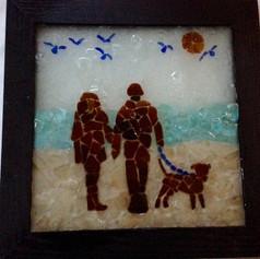 """Hunting Sea Glass"""