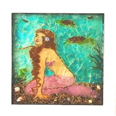 Mermaid Visiting Friends