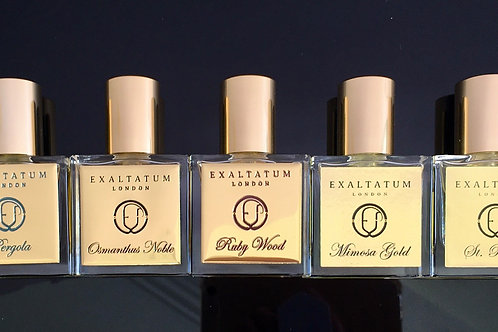 Exclusive Mini collection of 5 perfumes, 15 ml