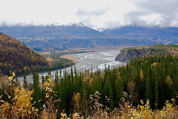 161008 Alaska Highway Mountains
