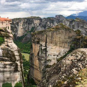Meteora, Greece and its Monasteries in the Sky