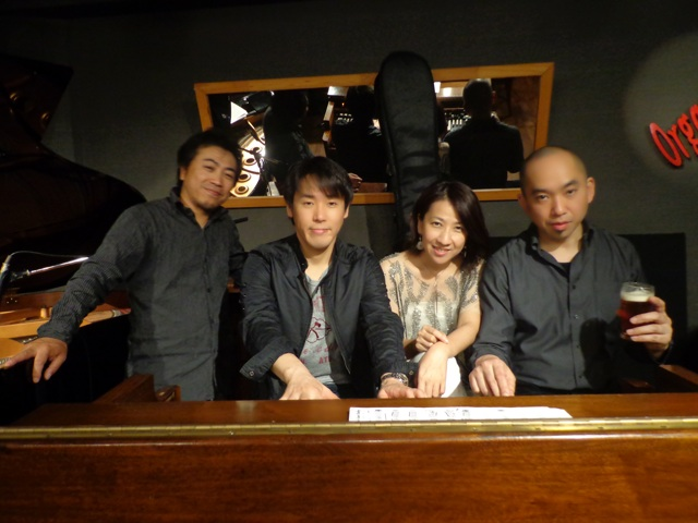 at organ jazz club