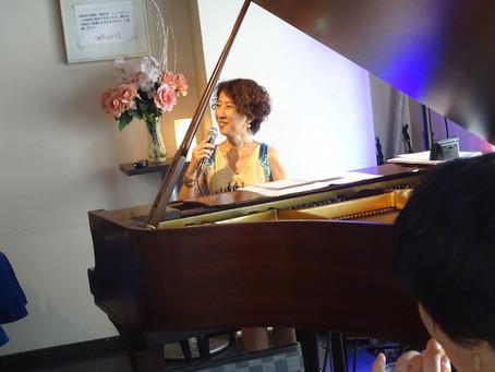 ラテンソロピアノライブお礼!