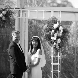 Beautiful Garden Wedding for L and G
