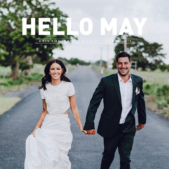 So thrilled to be part of Hello May edition 25