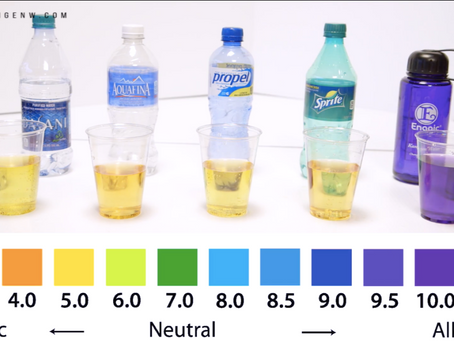 La alcalinidad del Agua Kangen®.
