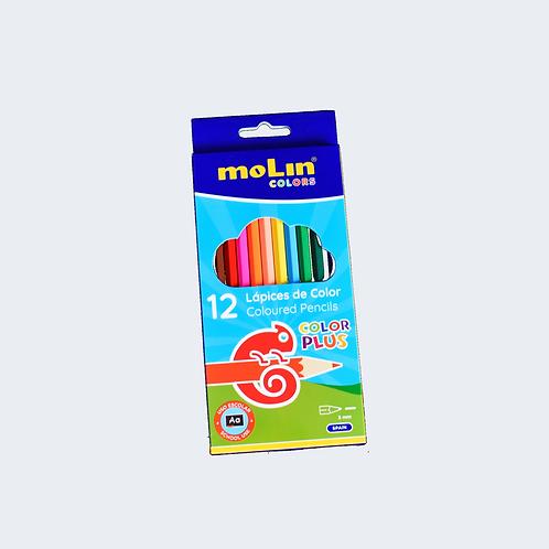 Lápis de cor - 12 Unidades