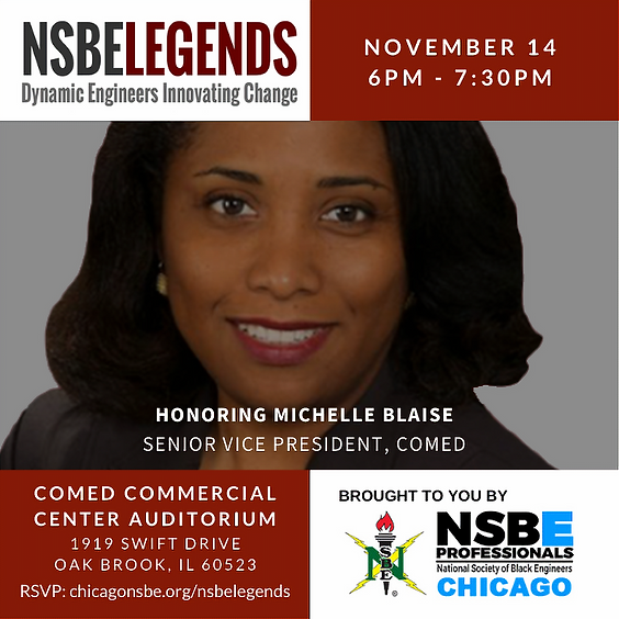 NSBELegends: Experience the Life and Wisdom of Michelle Blaise