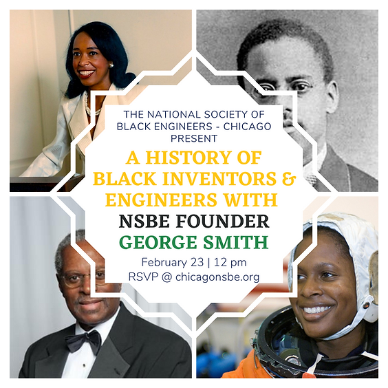 Black Inventors and Engineers Lunchtime Chat