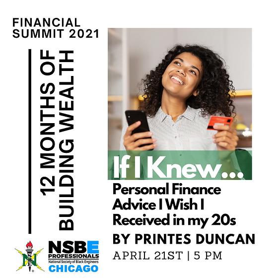 Financial Summit - April 2021