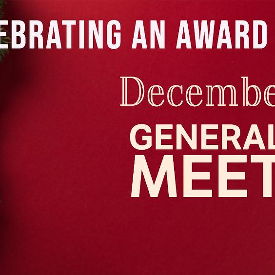 December 2019 General Body Meeting