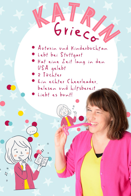 Katrin Grieco, Kinderbuchautorin, Kinderbuchautor, Kinderbuch, schreiben, veröffentlichen, KinderbuchManufaktur