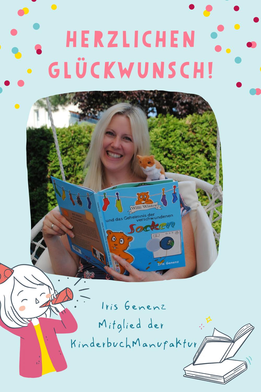 KinderbuchManufaktur Iris Genenz neues Buch Kinderbuchautorin
