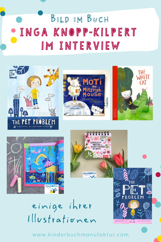Inga Knopp-Kilpert Kinderbuch Illustratorin Illustrationen