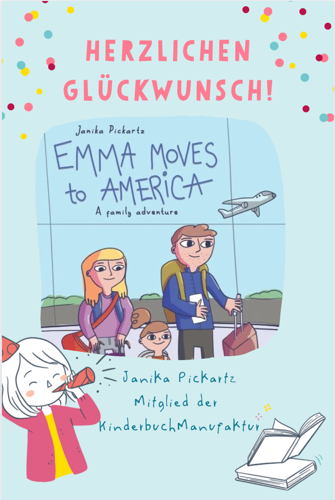 Janika Pickartz Emma moves to Amerika Kinderbuch